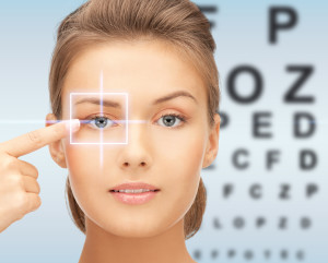 medicine, eyesight control, laser correction, people and health